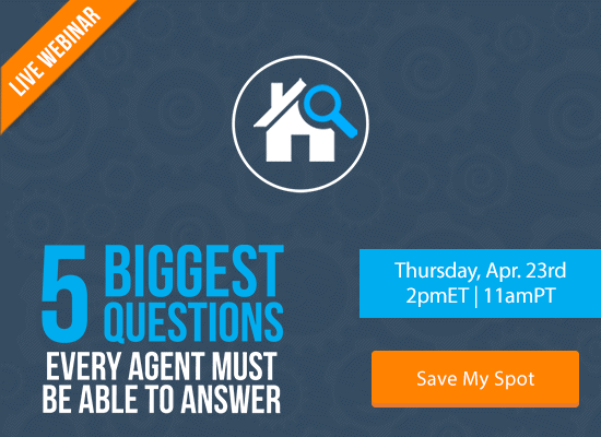 5 Biggest Questions Every Agent Must Be Able to Answer [LIVE WEBINAR]   Keeping Current Matters